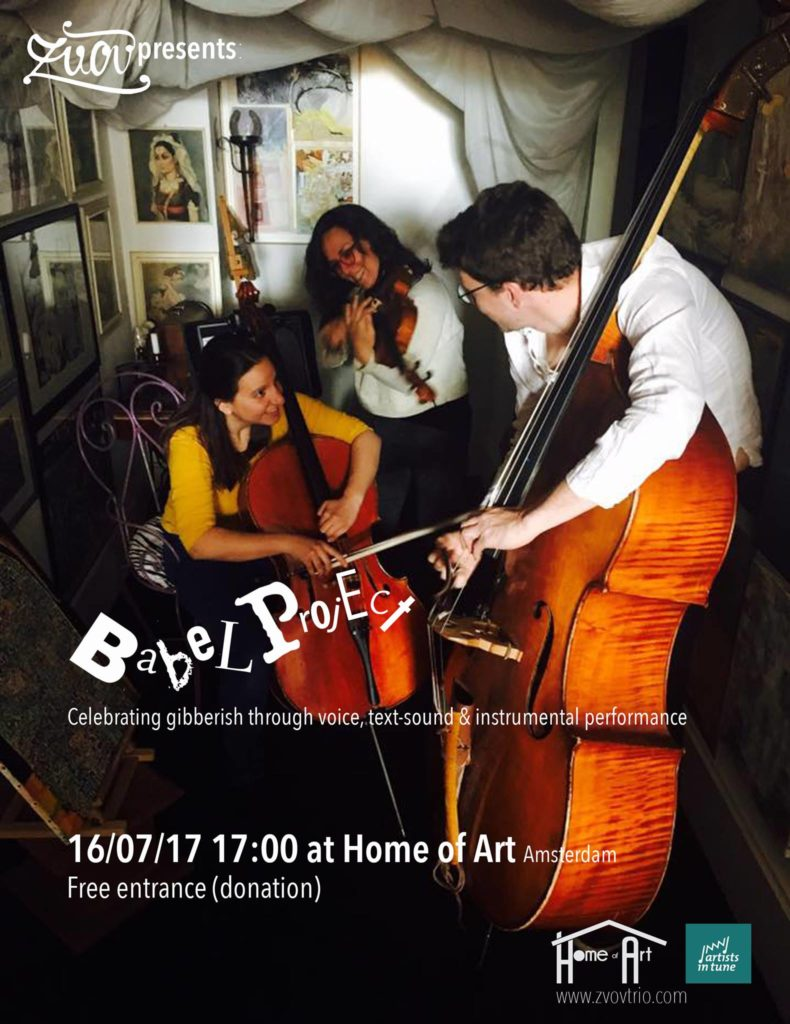 Babel project at Home of Art