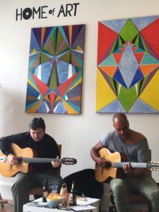 Oleg & Harald at Home of Art